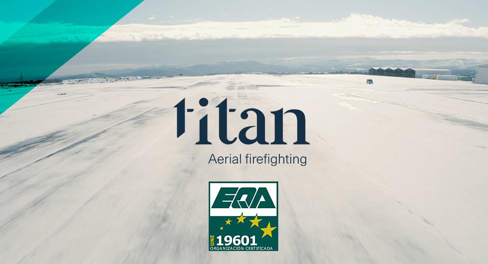 Grupo Titan certifica su Compliance Penal