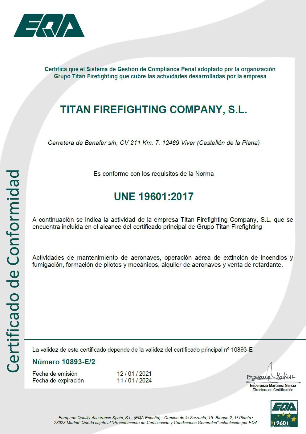 Compliance diploma