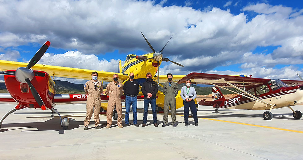 Our pilots receive UPRT training from Paul Ansoleaga and Cástor Fantoba, world runner-up in aerobatic flight